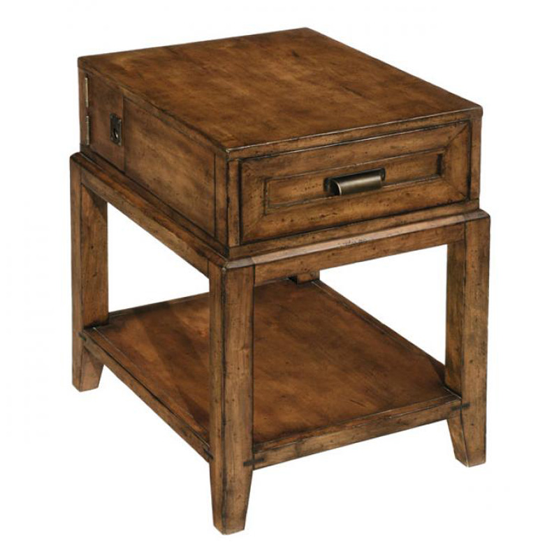 Cheap End Tables With Drawers Structure Rectangular