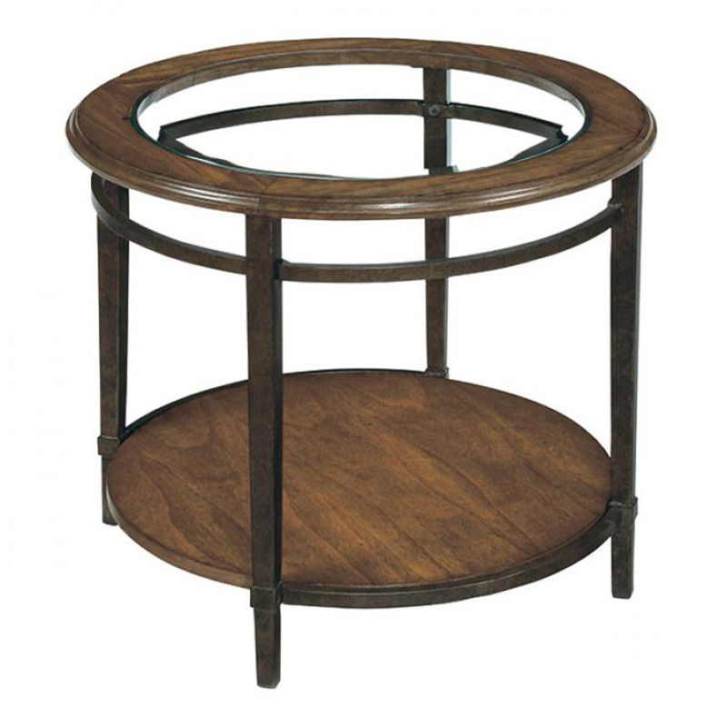 Laurelhouse Designs 189535 00 Tanner Round End Table Discount Furniture At Hickory Park