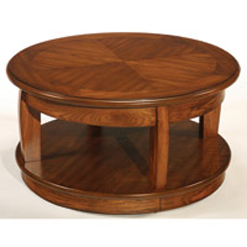 La Z Boy T1gt2083202 00 Ascend Round Lift Top Cocktail Table Discount Furniture At Hickory Park