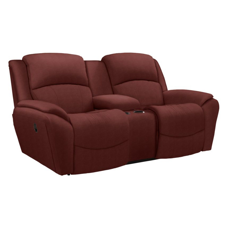 la z boy 740 barrett la z time full reclining loveseat with middle console discount furniture at