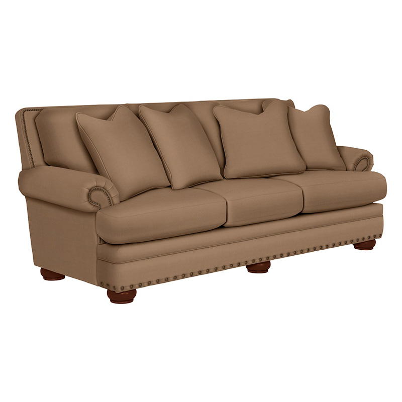 Leather Sectional Sofa Lazy Boy: La-Z-Boy 610657 Brennan Premier Sofa Discount Furniture At