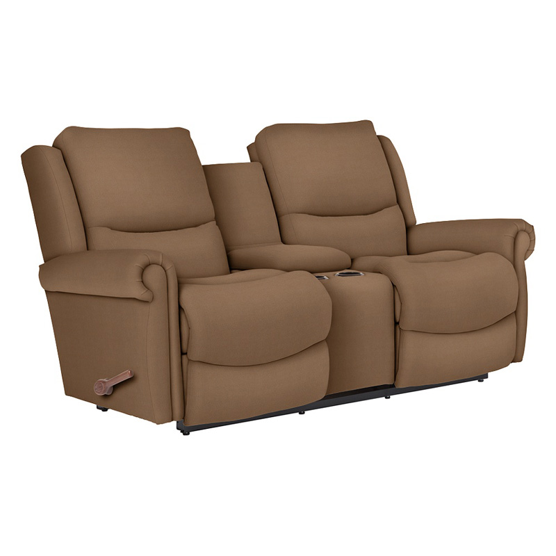 La Z Boy 390746 Duncan Reclina Way Full Reclining Loveseat With Middle Console Discount