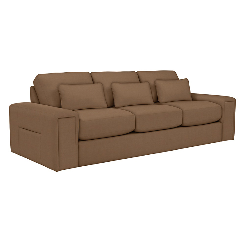 La Z Boy 610615 Structure Premier Sofa Discount Furniture At Hickory Park Furniture Galleries