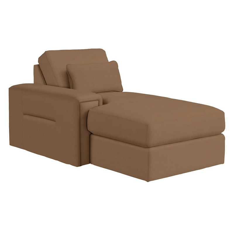 lazboy right arm sitting chaise - Chaise Discount