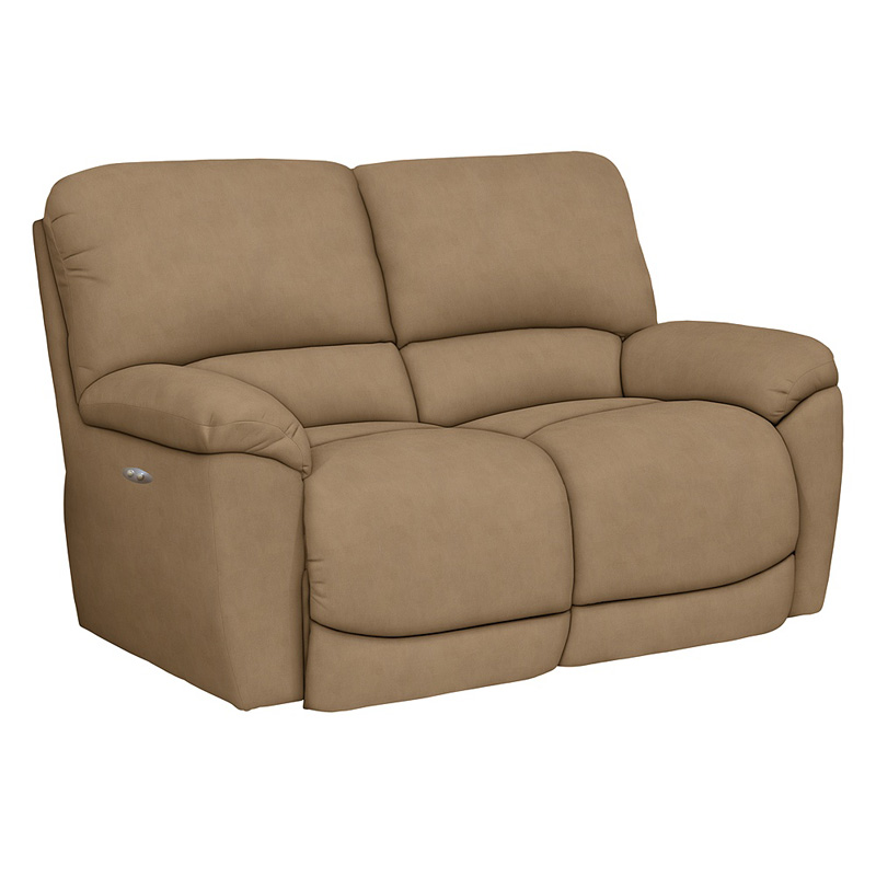 La Z Boy 48p749 Tyler Power La Z Time Full Reclining Loveseat Discount Furniture At Hickory Park