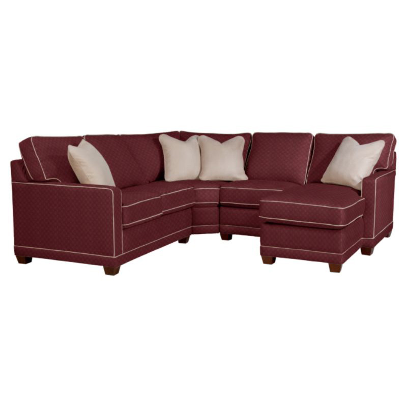 La z boy 593 kennedy sectional discount furniture at for Affordable furniture la