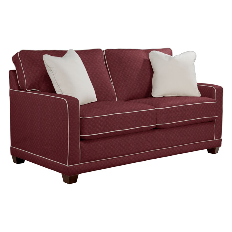 la z boy 593 kennedy apartment size sofa discount furniture at hickory