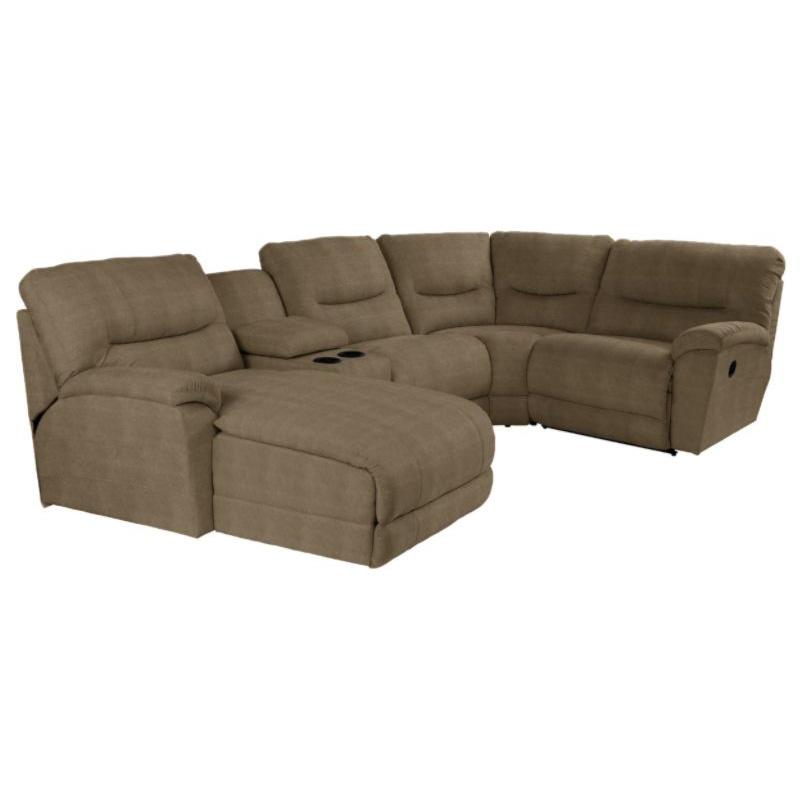 La Z Boy 720 Dawson Sectional Discount Furniture At