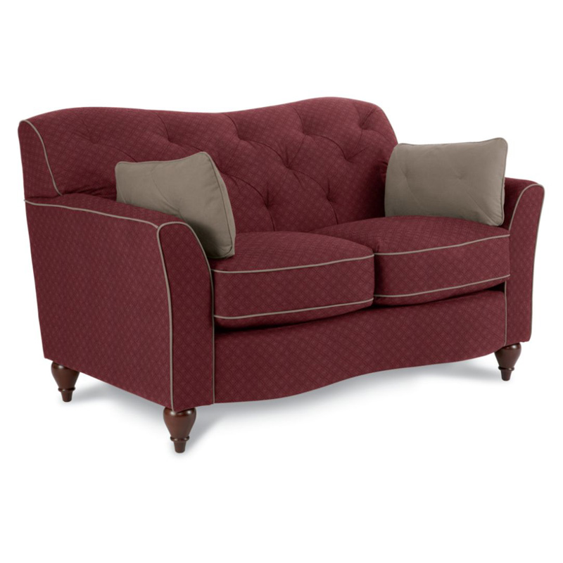 La z boy 607 malina loveseat discount furniture at hickory for Affordable furniture la