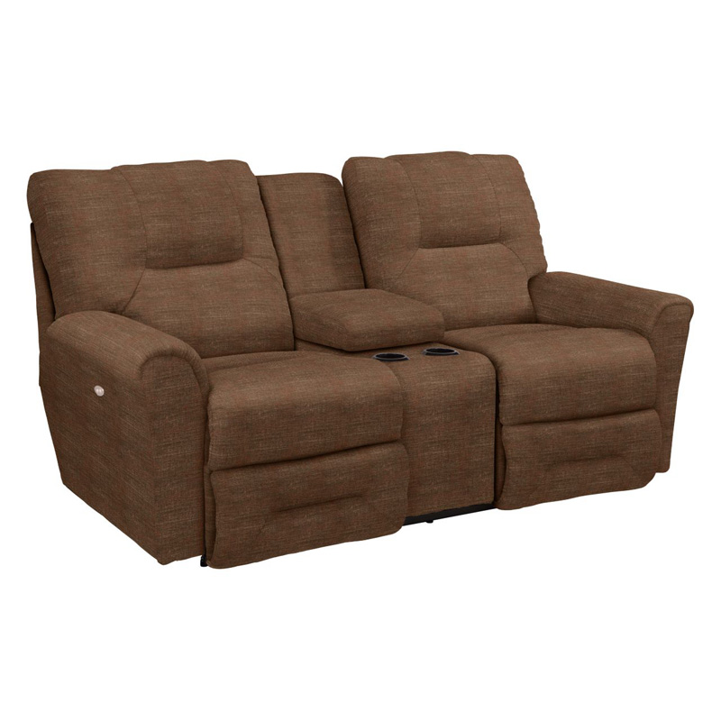 La Z Boy 702 Easton La Z Time Full Reclining Loveseat With Middle Console Discount Furniture At