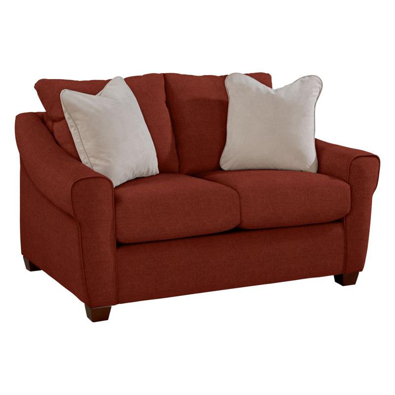 La Z Boy 624 Keller Premier Stationary Loveseat Discount Furniture At Hickory Park Furniture