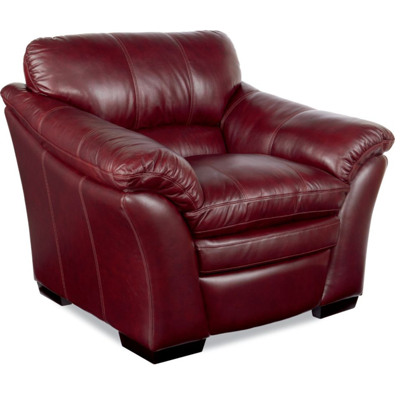 Burton Leather Sofa: La-Z-Boy 908 Burton Stationary Chair Discount Furniture At