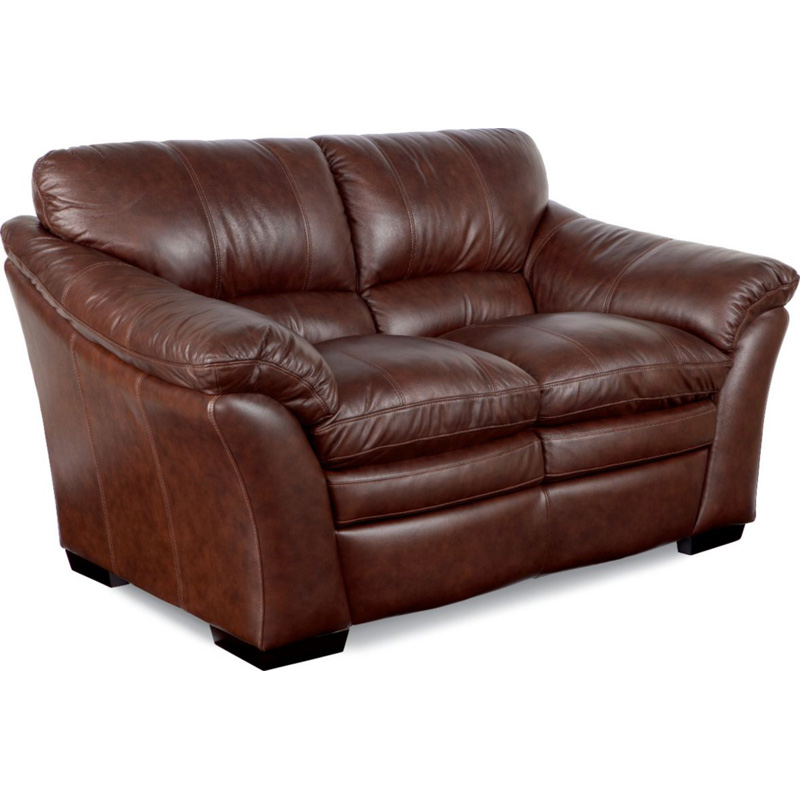 Burton Leather Sofa: La-Z-Boy 908 Burton Loveseat Discount Furniture At Hickory