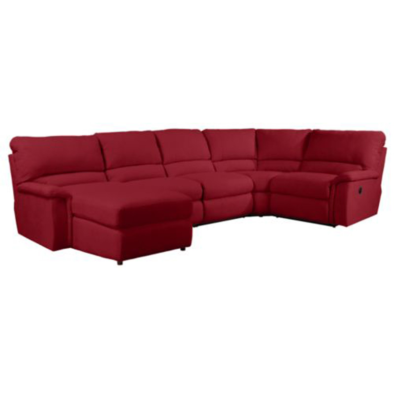 La z boy 723 aspen sectional discount furniture at hickory for Affordable furniture la