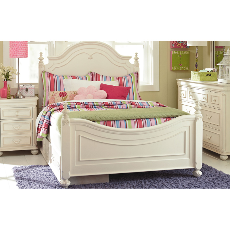 Legacy Classic Kids Low Poster Bed Full