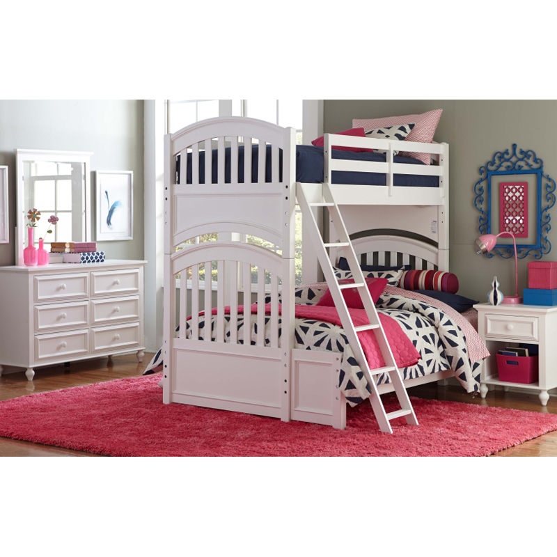 Legacy Classic Kids 5811 8140 Academy White Bottom Bunk Extension Discount Furniture At Hickory