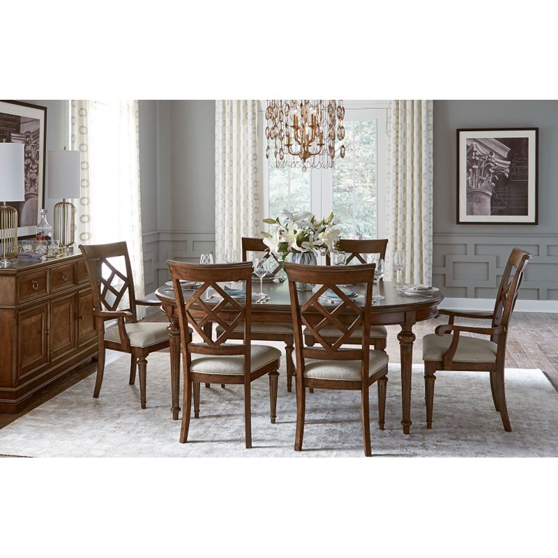 Legacy classic 6070 521 latham round dining table discount for Legacy classic dining table