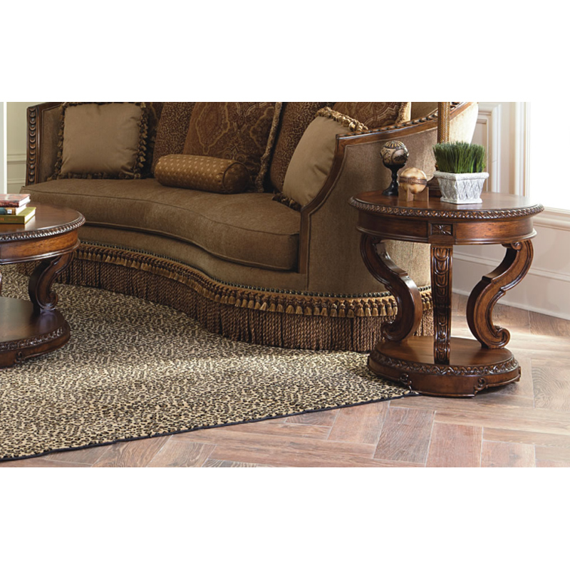 Legacy Classic 3100 408 Pemberleigh Round End Table Discount Furniture At Hickory Park Furniture