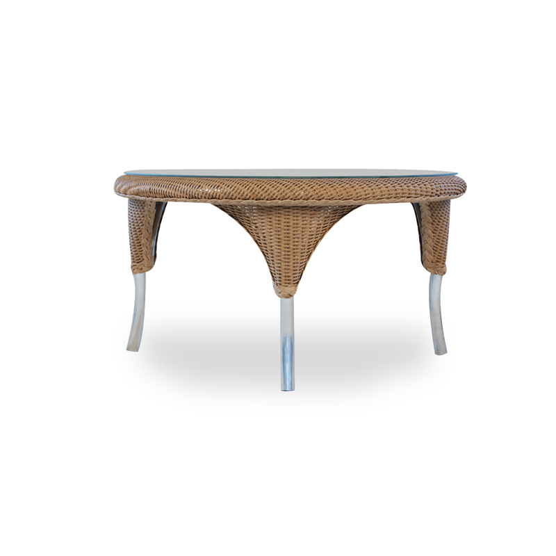 Lloyd flanders 86137 oxford 34 inch round cocktail table for 34 inch round coffee table