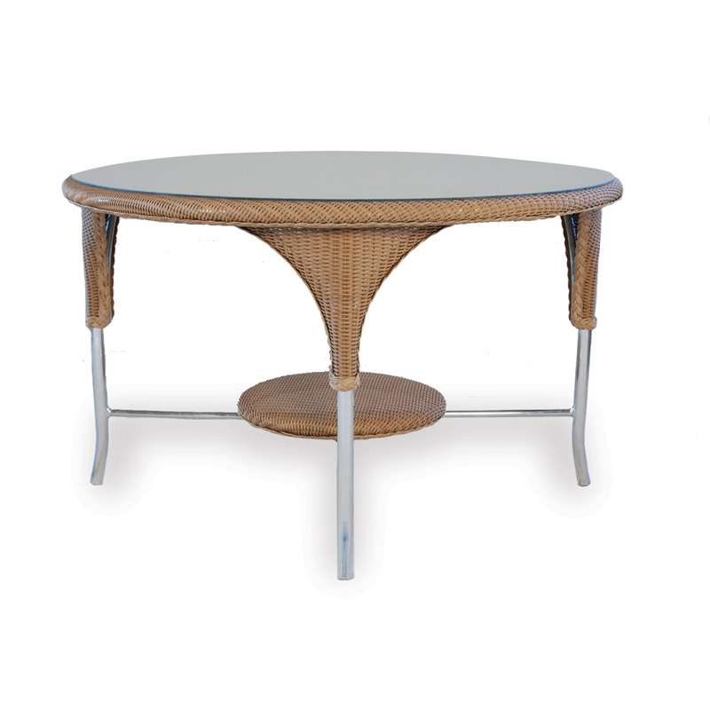 lloyd flanders 86148 oxford 48 inch round dining table discount