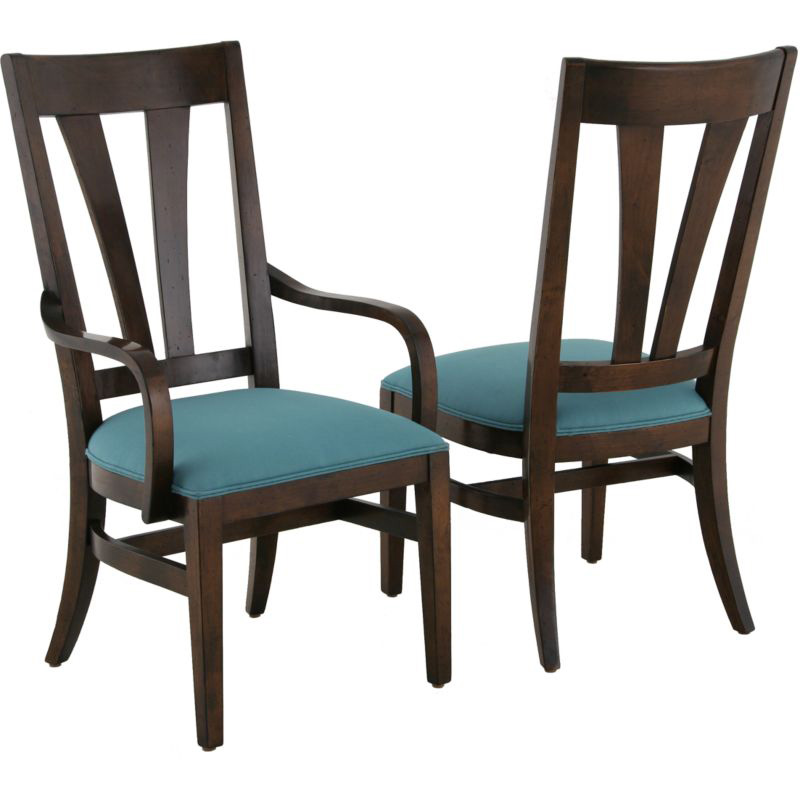 Lorts  dining arm chair discount furniture