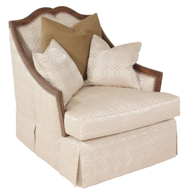 Lorts 832 upholstery chair discount furniture at hickory for Affordable furniture upholstery