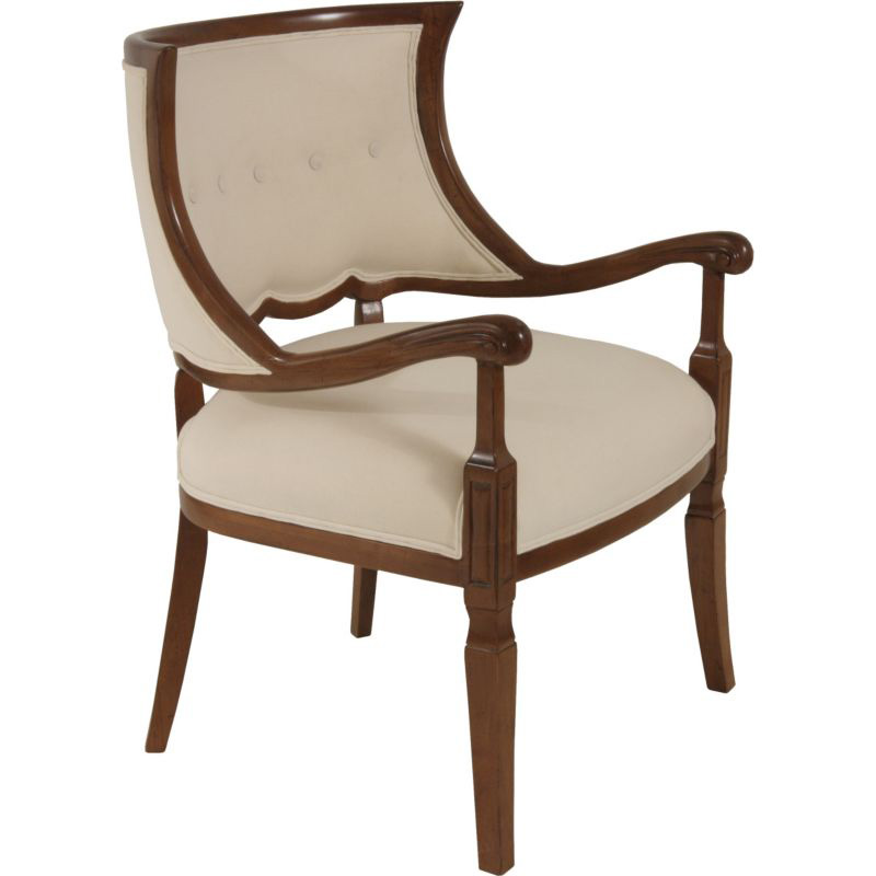 Lorts 863 upholstery chair discount furniture at hickory for Affordable furniture upholstery