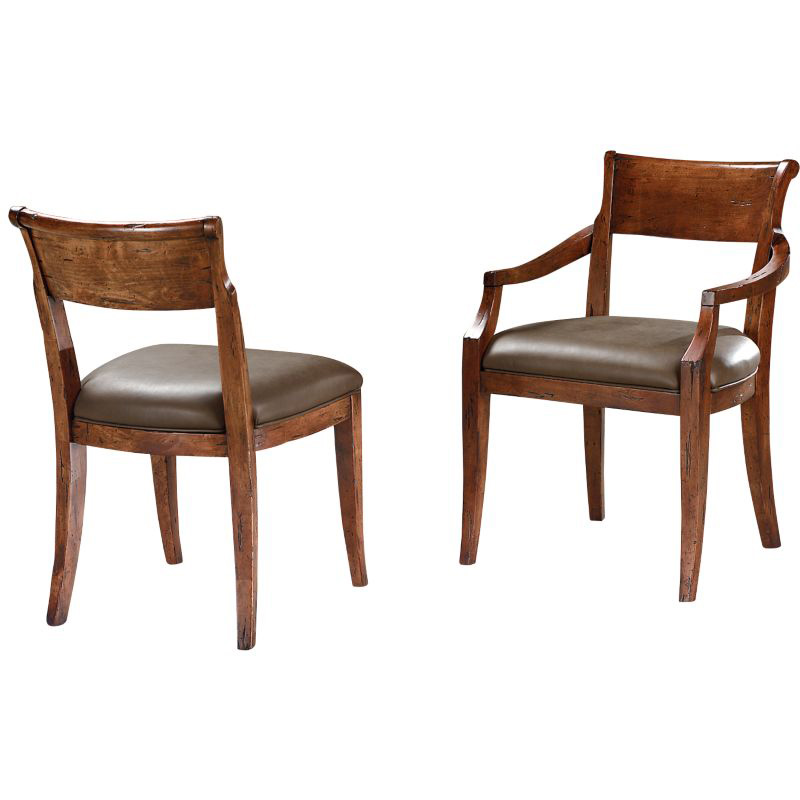 Lorts dining arm chair discount furniture at