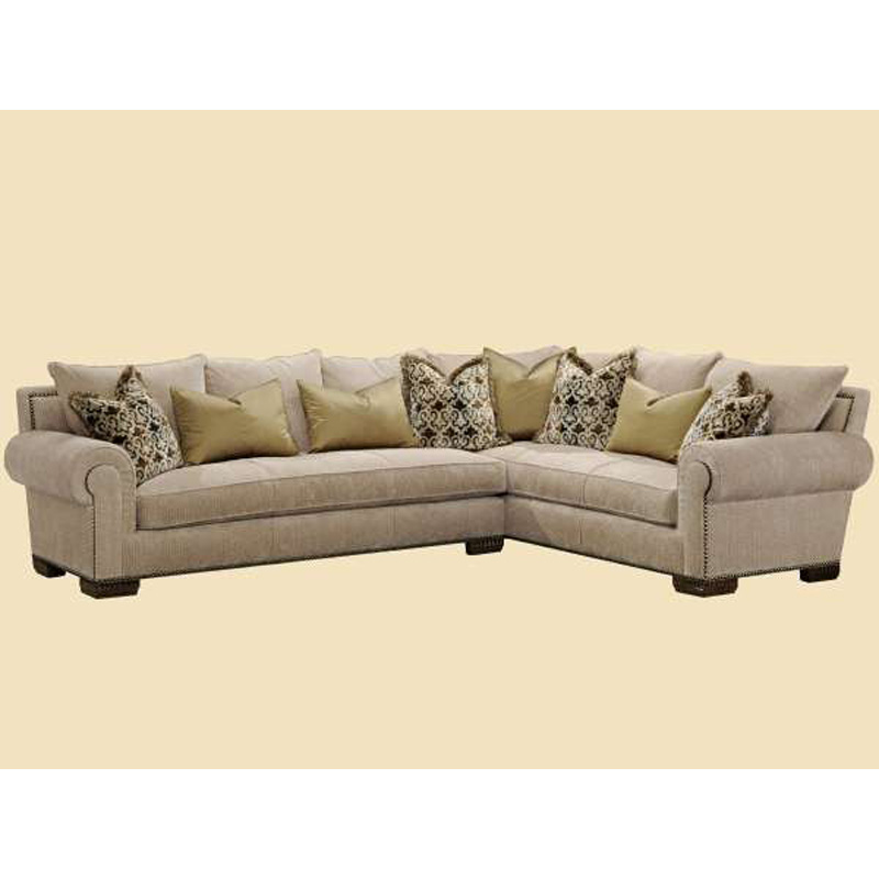 Marge Carson BYSEC Bentley Sectional Discount Furniture At
