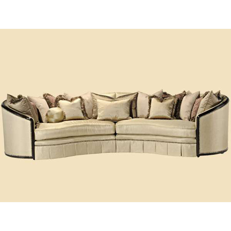 Marge Carson Ods43 Mc Sofa Odessa Sofa Discount Furniture At Hickory Park Furniture Galleries