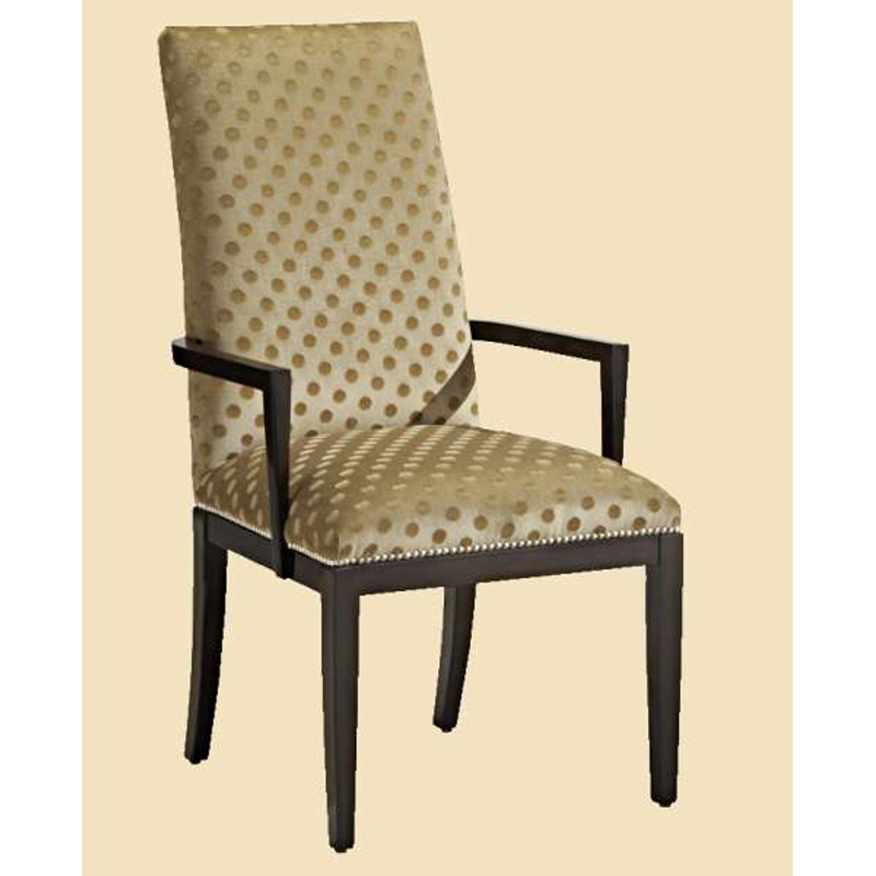Marge Carson SVL46 Silverlake Arm Chair Discount Furniture
