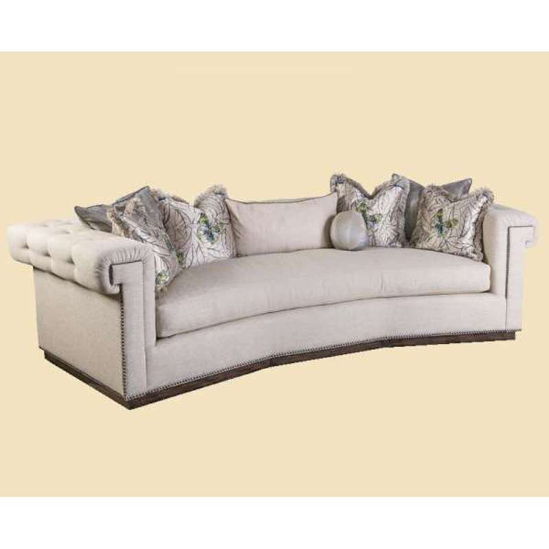 Marge Carson Frk443w Mc Sofas Franklin Wedge Sofa Discount Furniture At Hickory Park Furniture