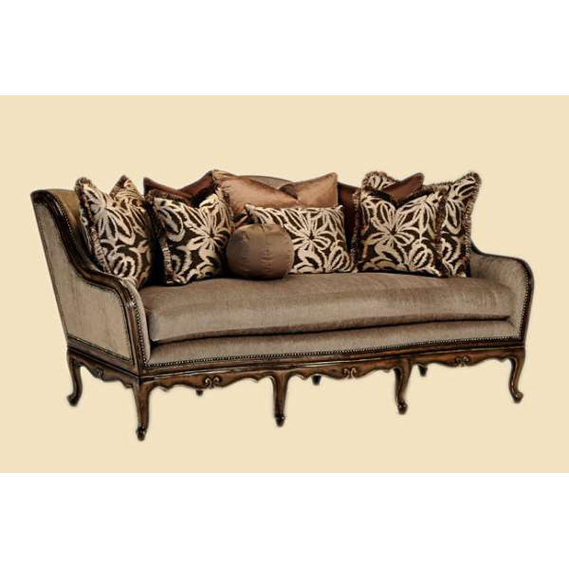 Marge Carson Cha43 Mc Sofas Charmaine Sofa Discount Furniture At Hickory Park Furniture Galleries