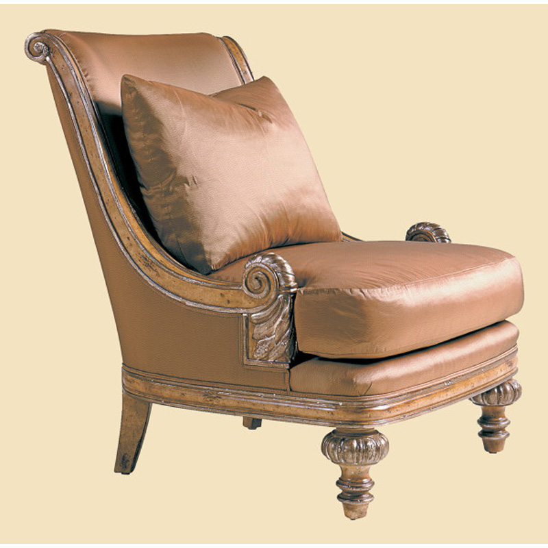 Marge carson ht49 mc chairs huntington manor lounge chair for Carson chaise lounge