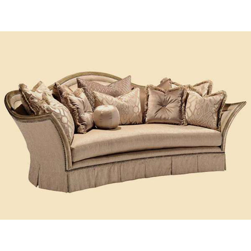 Marge Carson Luc43 Mc Sofas Luciana Sofa Discount Furniture At Hickory Park Furniture Galleries