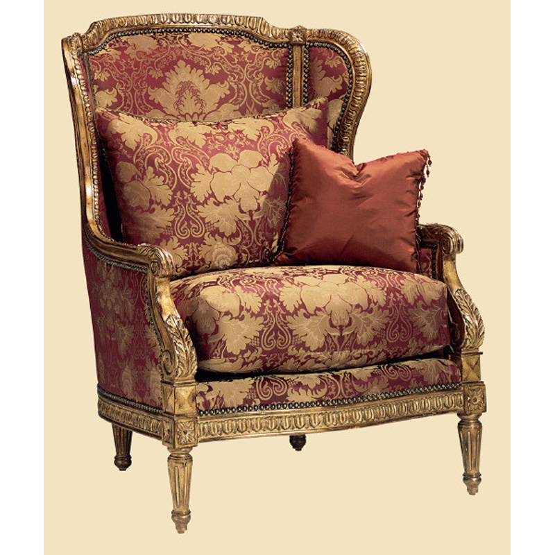 Marge Carson Me41 Mc Chairs Madeleine Chair Discount Furniture At Hickory Park Furniture Galleries