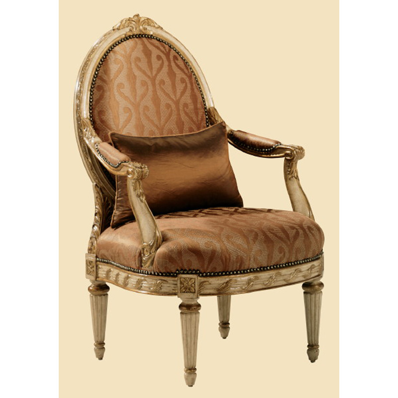 Marge Carson Or41 Mc Chairs Orleans Chair Discount Furniture At Hickory Park Furniture Galleries