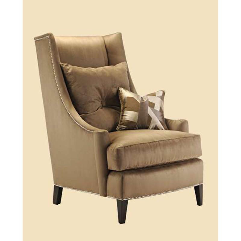 Marge carson par41 mc chairs parker lounge chair discount for Carson chaise lounge