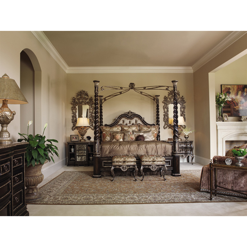 Marge Carson Rs1169 Piazza San Marco Bedroom Discount Furniture At Hickory Park Furniture Galleries
