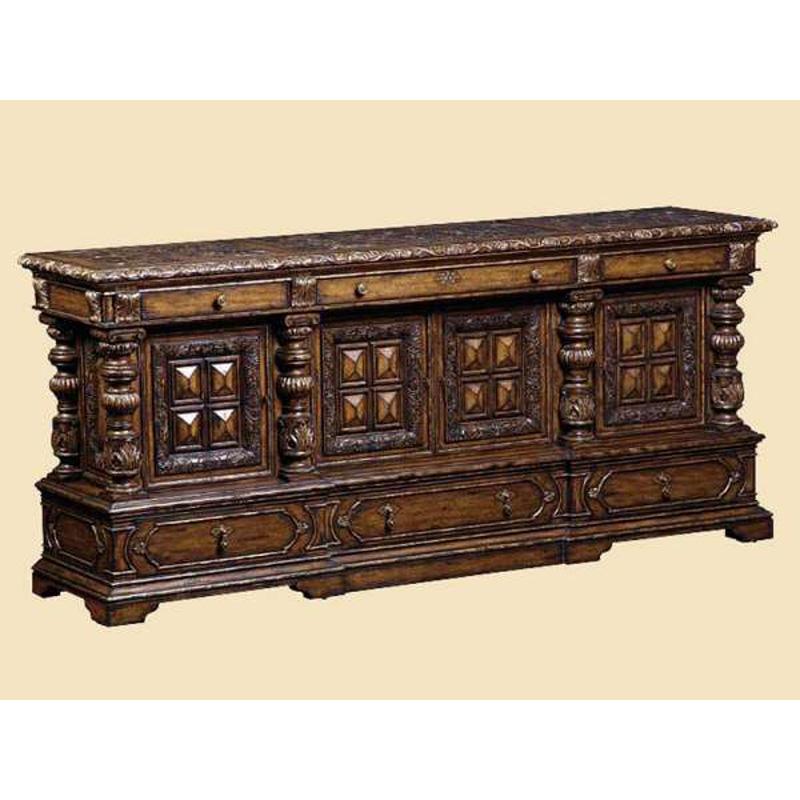 Marge Carson Sev10 2 Seville Credenza Discount Furniture At Hickory Park Furniture Galleries