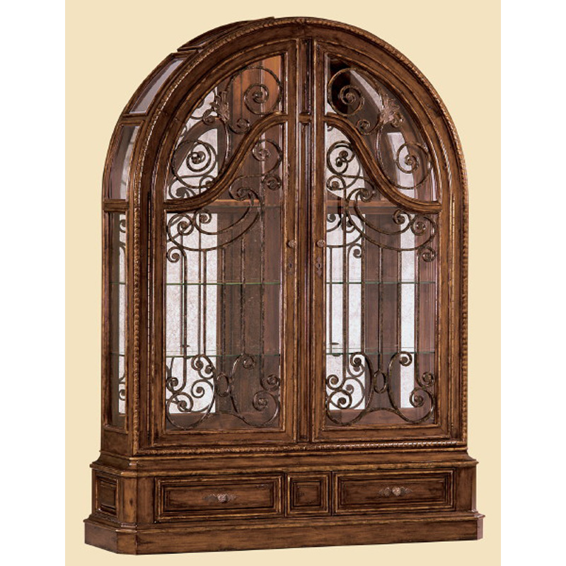 Marge Carson Sg09 Segovia Display Cabinet Discount