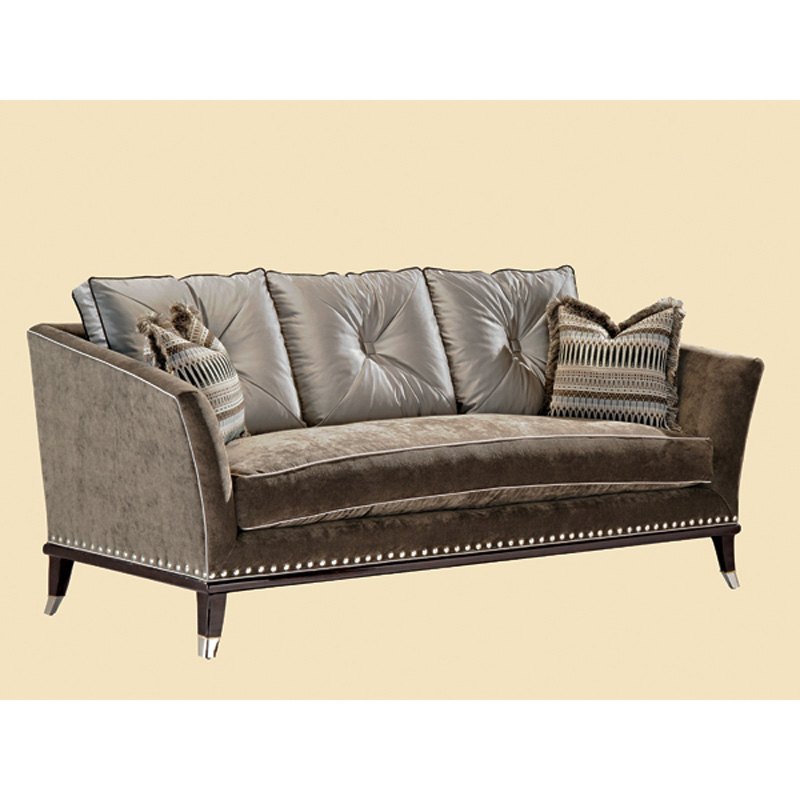 Marge Carson Sha43 Mc Sofas Shawna Sofa Discount Furniture At Hickory Park Furniture Galleries