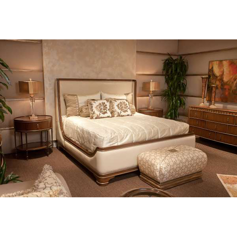 Discount Furniture Store Package 76: Marge Carson SL95 Montecito Bedding Solano Bedding Package