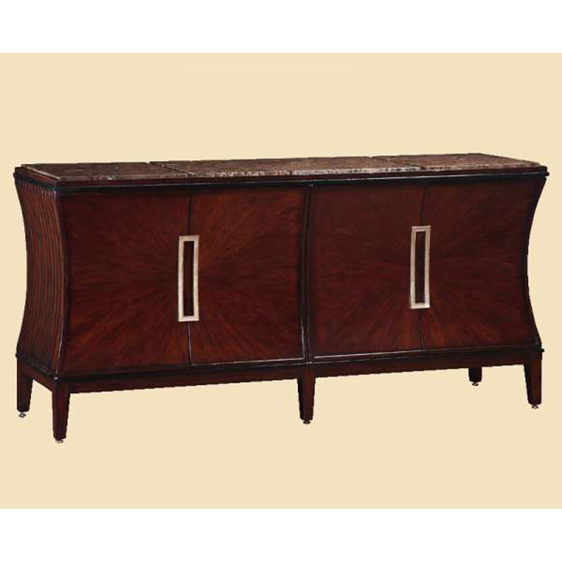 Marge Carson Sna10 2 Sonoma Credenza Discount Furniture At Hickory Park Furniture Galleries