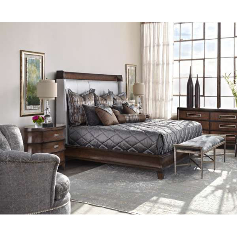 Marge Carson Rs1234 Sonoma Bedroom Discount Furniture At Hickory Park Furniture Galleries