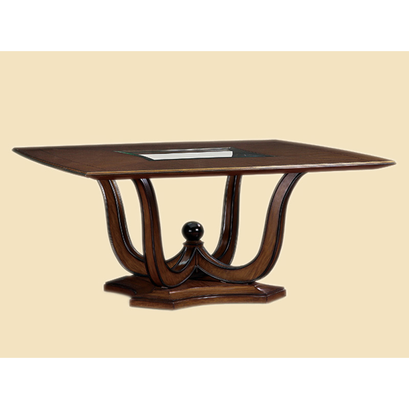 Marge Carson Tan08 2 Tango Square Dining Table Discount