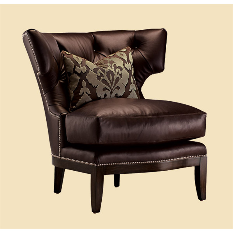 Marge Carson Tri41 Mc Chairs Trinity Chair Discount Furniture At Hickory Park Furniture Galleries