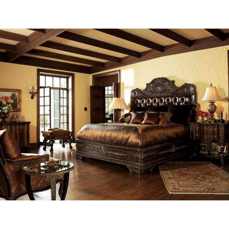 Marge Carson Bedroom Sets Marge Carson Rs1013 Samba Bedroom Discount Furniture At Hickory Park