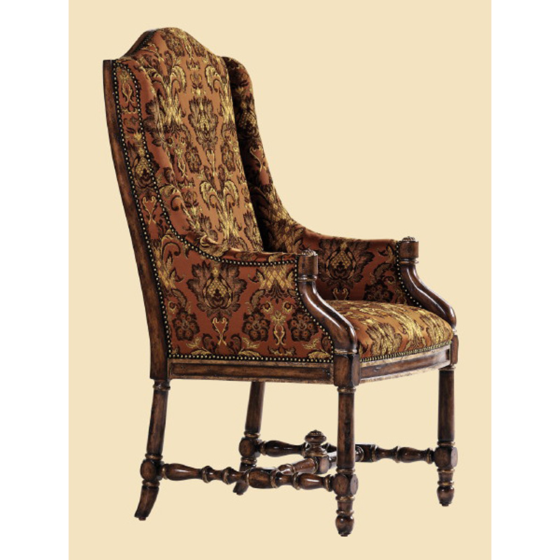 Marge Carson Ykm46 1 Yorkshire Manor Arm Chair Discount Furniture At Hickory Park Furniture