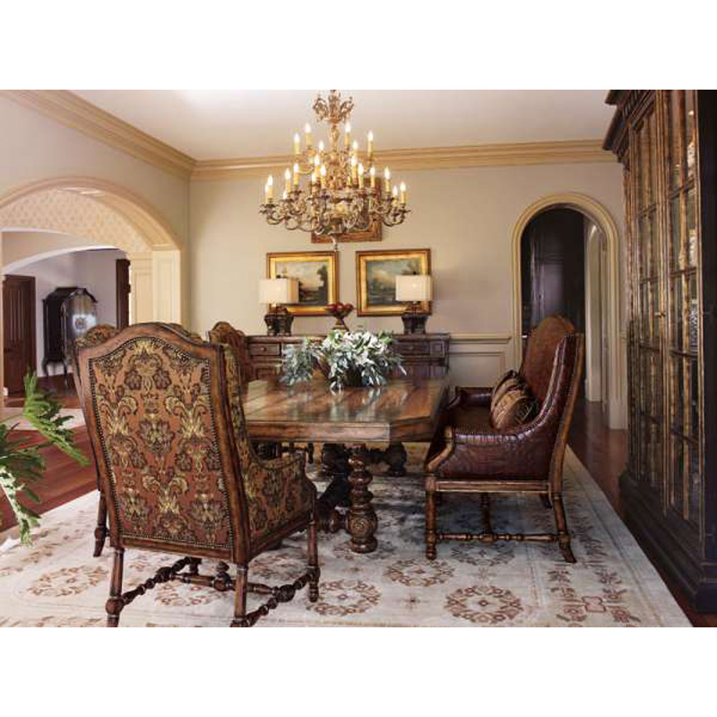 Marge Carson Rs1036 Yorkshire Manor Dining Room Discount Furniture At Hickory Park Furniture